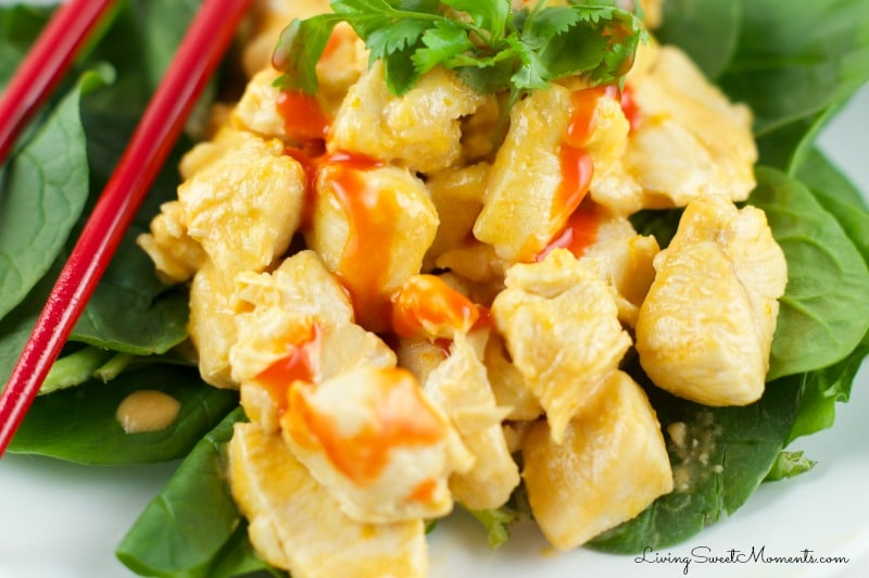 Orange Sriracha Chicken Recipe is ready in 20 minutes or less. It has bold flavors and is the perfect weeknight dinner idea. It is also elegant enough for company