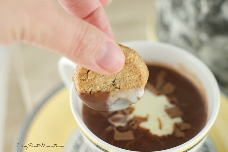 Thick Hot Chocolate Recipe - ready in 6 minutes or less. Delicious, creamy, thick and indulgent drink that does not resemble cocoa at all.
