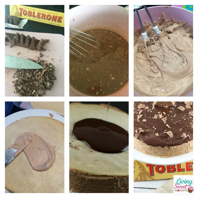 toblerone-crepe-cake-in-process