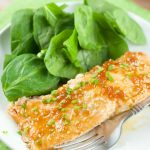 Sweet Apricot Glazed Salmon
