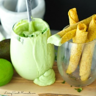 Avocado Cilantro Cream Dip