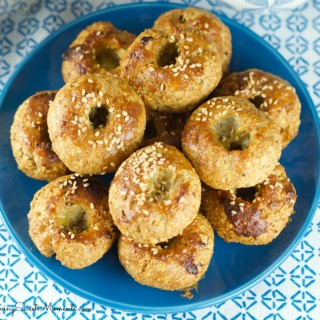 Passover Bagels - Super easy to make and delicious. These Passover rolls are sweet and savory with a sesame topping. Serve them warm on your Pesaj Seder
