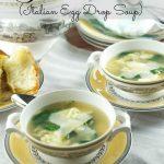 La Stracciatella Soup (Italian Egg Drop Soup)