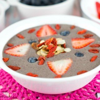 Acai Bowl With Fruit And Nuts