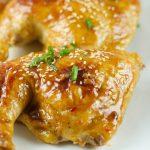 Chicken with Orange Plum Sauce