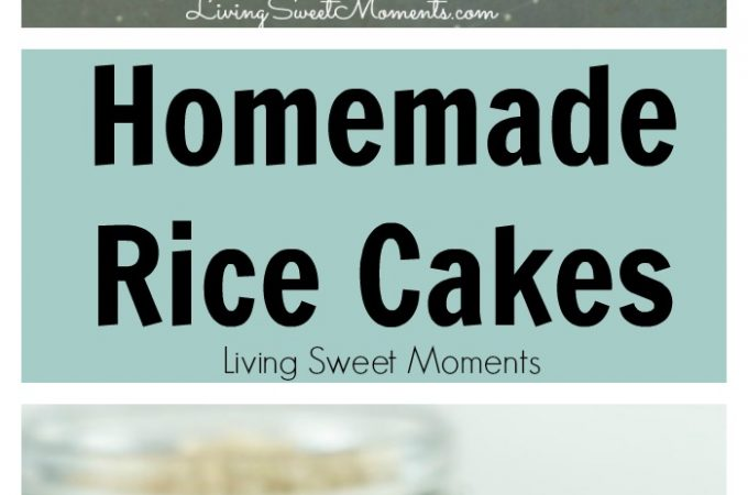 Brown rice cakes recipe - These easy to make baked brown rice cakes are delicious, healthy and made in a fun way to get kids to kids to eat them.