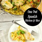 One Pot Spanish Chicken And Rice