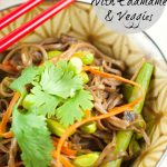 Soba Noodles With Edamame And Spring Veggies