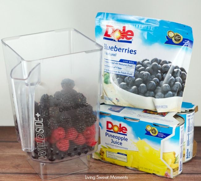 Mixed Berry Gazpacho