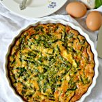 Crustless Spinach Quiche - This easy to make Gluten Free Crustless Spinach Quiche is the perfect Sunday brunch recipe that can be customized to any taste.