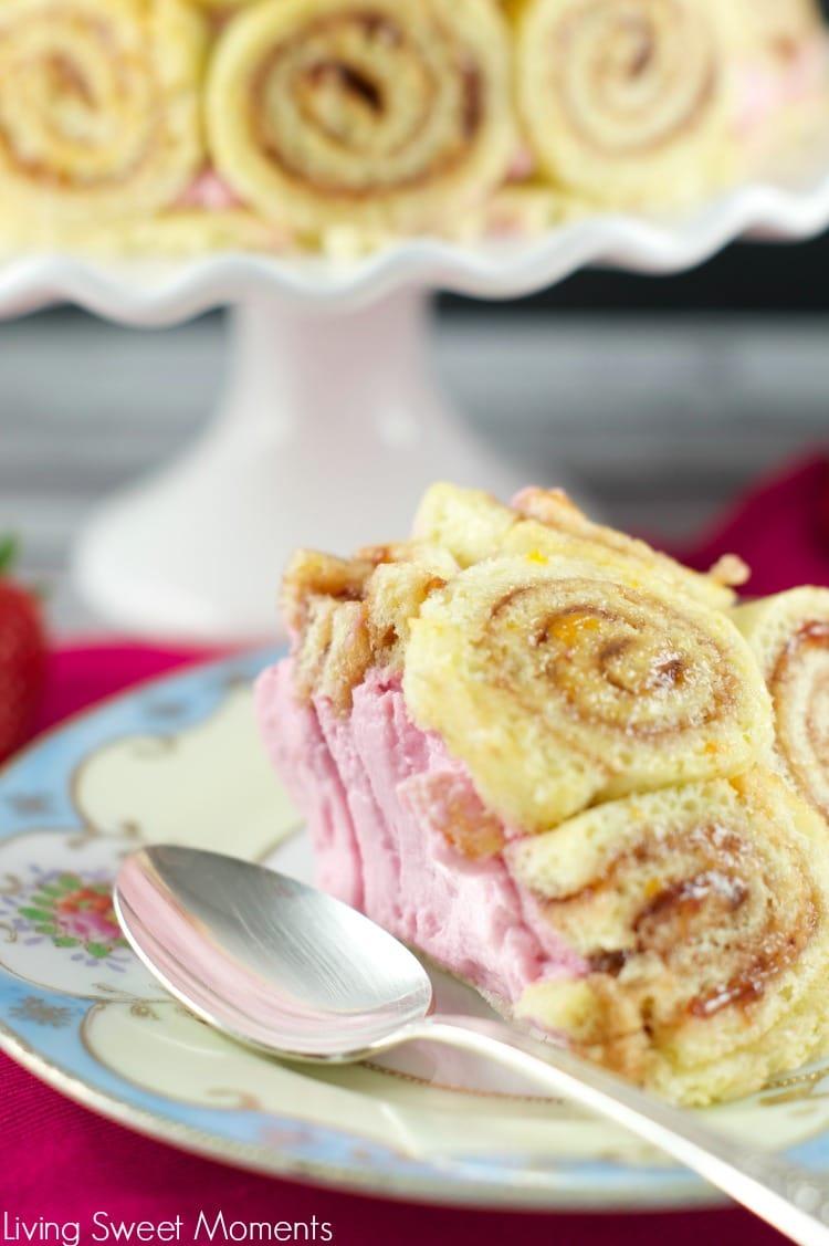 Strawberry Charlotte Cake Recipe