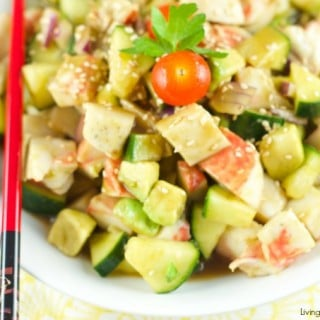 Surimi Salad With Sesame Dressing