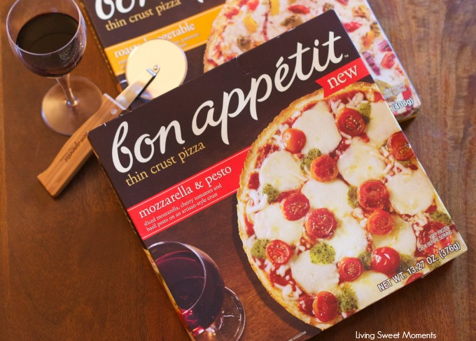 Bon Appetit Pizza Review: made with 100% mozzarella cheese and artisanal thin crust, Bon Appetit is much more than a frozen pizza. It's sophisticated and tasty.