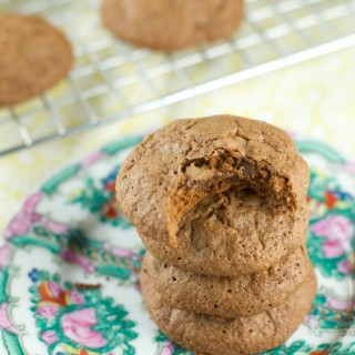 Double Chocolate Brownie Cookies : these easy to make chocolate cookies have the pudginess of a brownie with the taste of a cookie. Perfect for dessert.