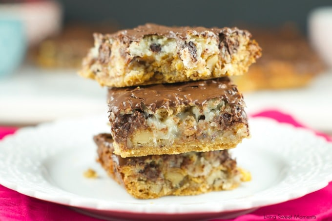 Cereal Hello Dolly Bars - Living Sweet Moments