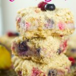 Lemon Berry Crumb Bars