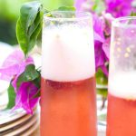 Orange Raspberry Sparkling Wine Cocktail