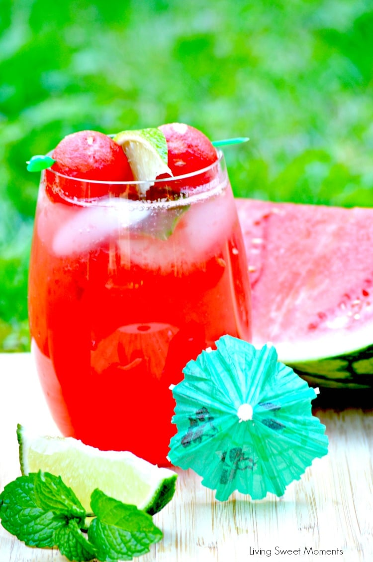 Watermelon Mojitos recipe