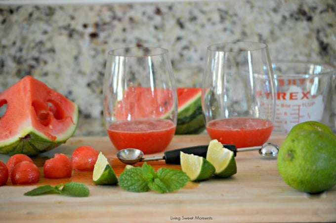 Watermelon Mojitos recipe 1