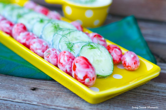 creamy dill cucumber and tomato salad 1