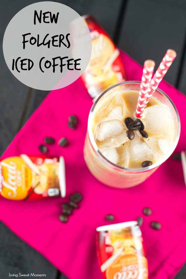Folgers Iced Café  is a new line of concentrated coffee, sweetener and flavor enhancers all conveniently combined in a portable package. Enjoy it on the go!