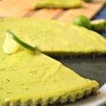 Raw Key Lime Tart