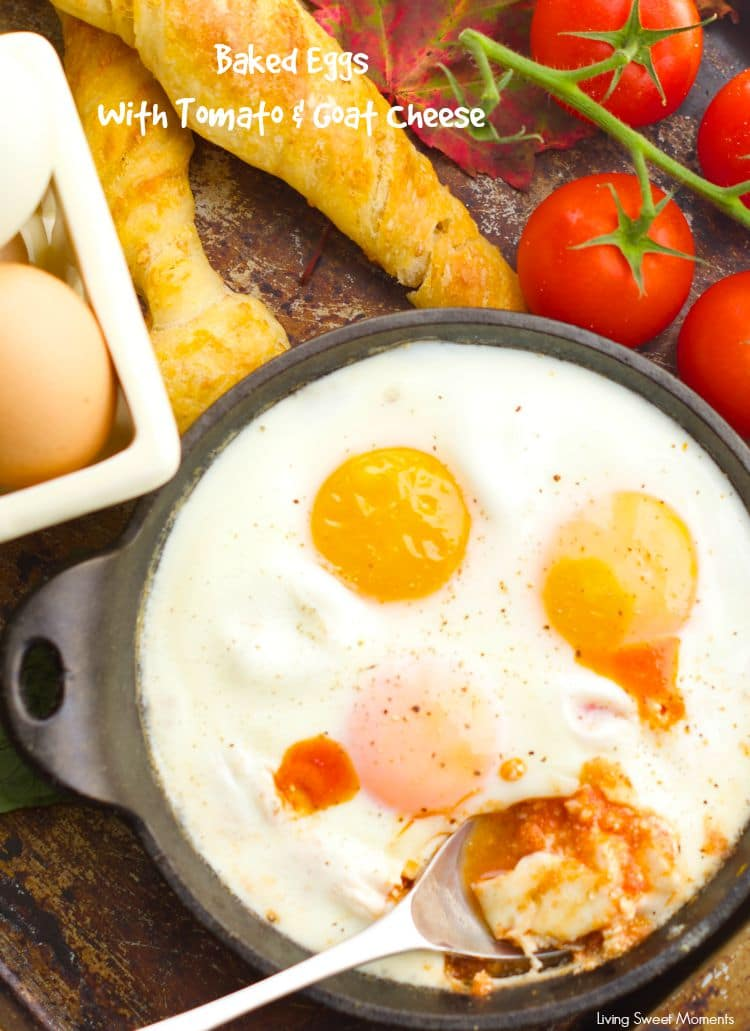 And Tomato – delicious eggs are baked in a homemade tomato sauce ...