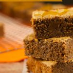 Pumpkin Cheesecake Brownies: this easy and delicious recipe is perfect for fall and winter. Brownies and fudgey with a creamy spiced pumpkin cheesecake top.