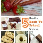 5 Healthy Back To School Snacks