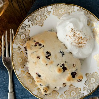 Cranberry Cinnamon Scones