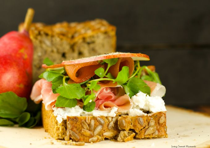 open faced ham and cheese sandwich recipe