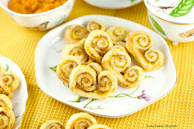 pumpkin palmiers cookies recipe