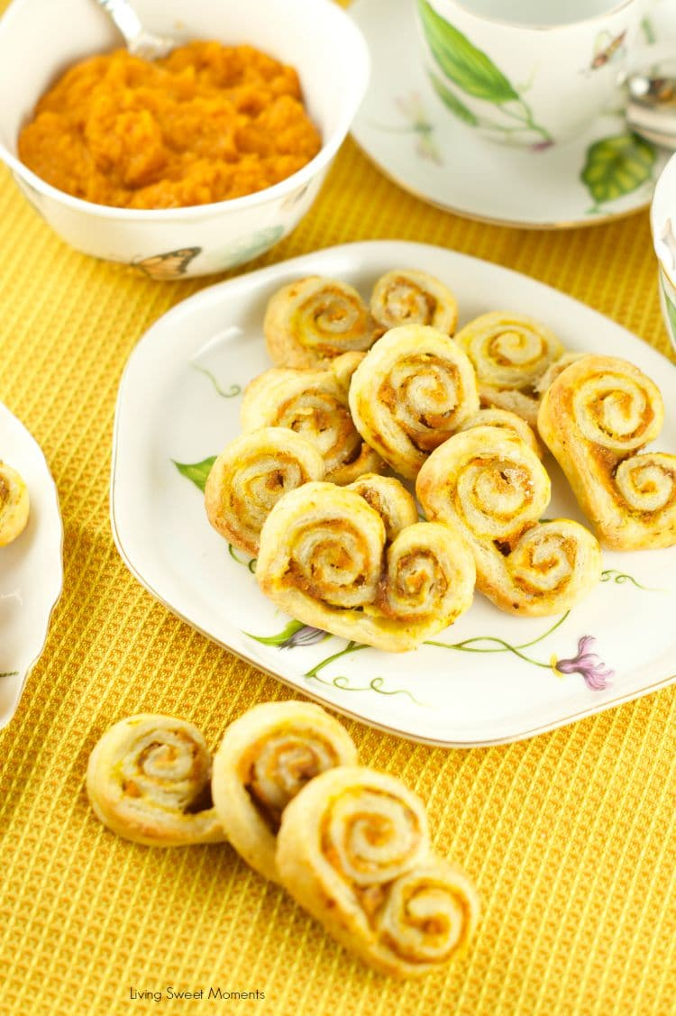 My Favorite Pumpkin Palmiers - Living Sweet Moments