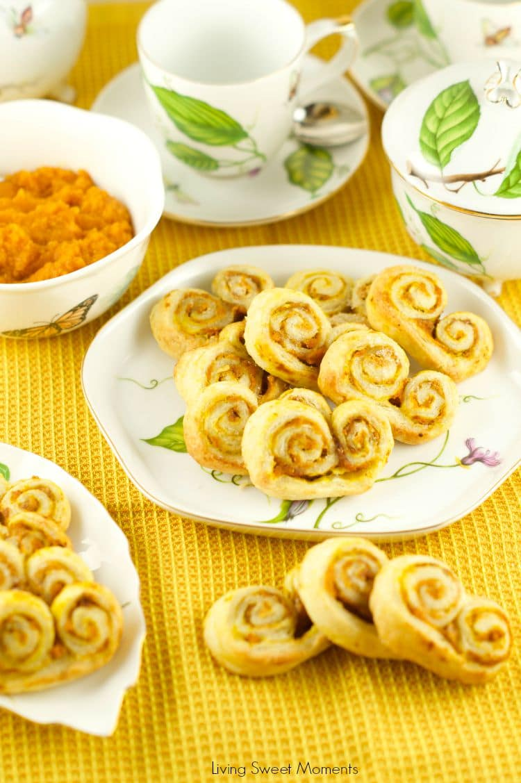 Pumpkin Spice Palmiers Recipe — Dishmaps