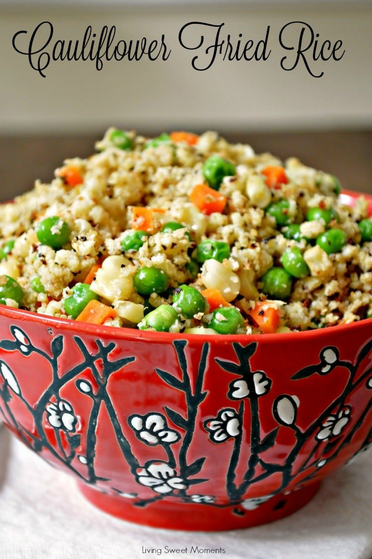 Cauliflower Fried Rice - Healthy, low-carb, and seriously tasty ...