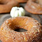 Baked Pumpkin Doughnuts - These are the best fall doughnuts you will ever try! They are so soft and moist and loaded with pumpkin/cinnamon flavor! Yummy!