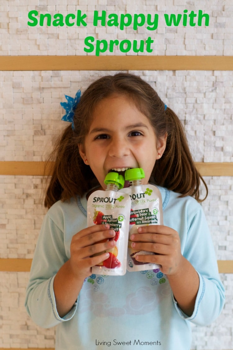Keep Your Kids And Toddlers Happy With Sprout! - Sprout baby and toddler food is made with real ingredients and interesting combinations that they will love