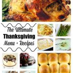 The Ultimate Thanksgiving Menu