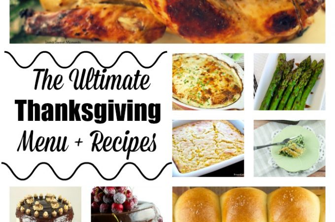 Menu planning for your Thanksgiving Day just got a lot easier! Here are a few Thanksgiving Menu Recipes from appetizers, entrees to desserts. Enjoy!