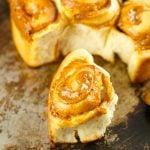 Dulce De Leche Cinnamon Rolls