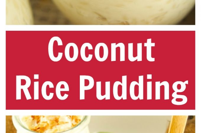 This creamy Coconut Rice Pudding is delicious, sweet and the perfect comfort dessert that will transport you to the islands. Easy to make and Gluten Free