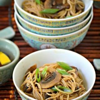 Vegetarian Spicy Sesame Noodles