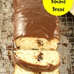 This 2 ingredient Banana Bread is made with ice cream and can be done in 45 minutes or less. Top it off with a decadent ganache for brunch or dessert.