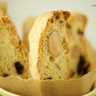 These delectable Italian Cherry Almond Biscotti (Cantucci) are the perfect cookies to dip in wine, coffee and hot cocoa for breakfast, snack or dessert. Yummy!