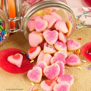 Scrumptious Mini Valentine's Cookies