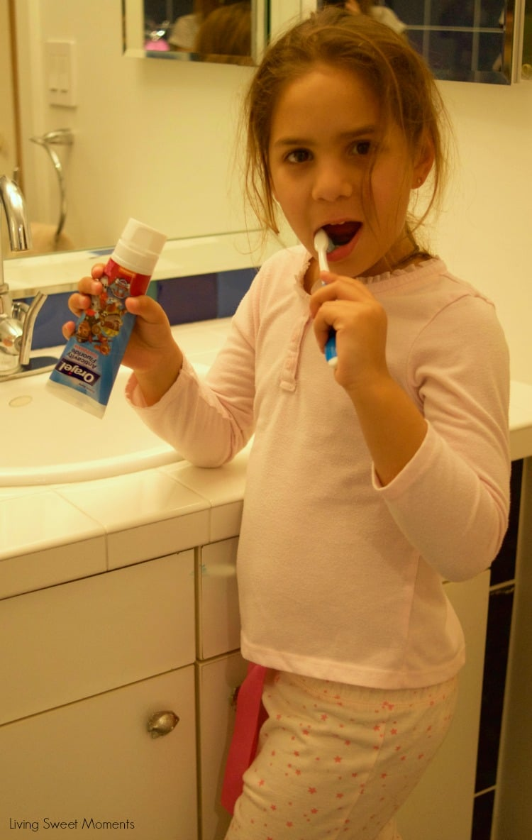 Establishing a kid's Bedtime Routine can be easily done by promoting healthy activities as a family before saying goodnight. Reading, Brushing their teeth.