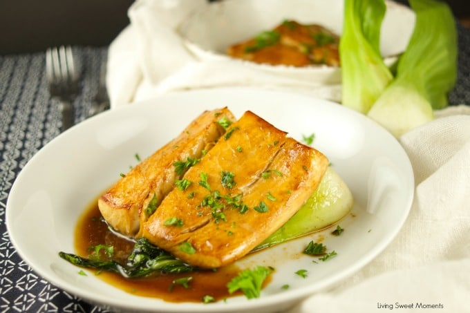 Tea Smoked Fish - learn how to infuse delicious flavor into your fish using this easy method. The perfect healthy and quick dinner idea without much effort.