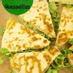Turkey Brie Quesadillas With Pears