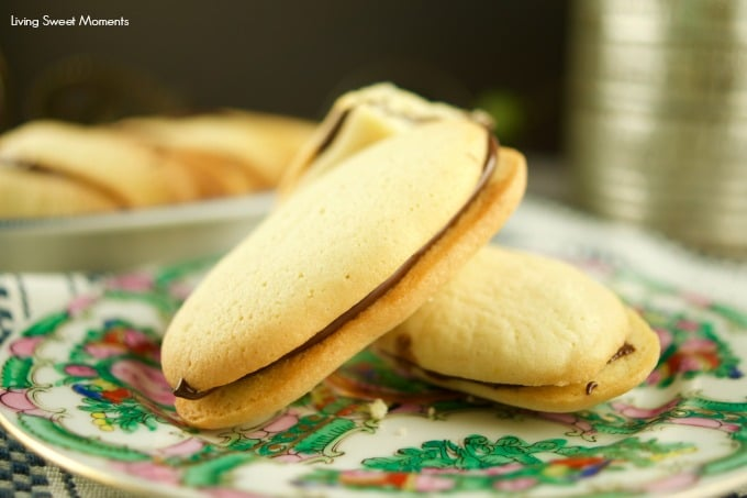 These Copycat Milano Cookies are easy to make and delish. Enjoy 2 shortbread cookies sandwiched together with chocolate. The perfect after dinner dessert.