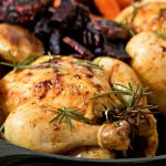 Cornish Hens With Roasted Veggies